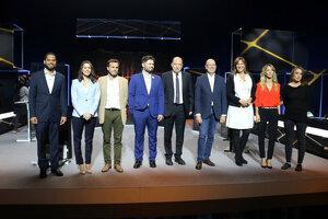 El debat de candidats catalans de TV3 a les eleccions del 10 de novembre