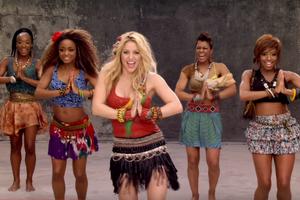 El 'Waka Waka' de Shakira va ser l'himne oficial del Mundial de futbol del 2010