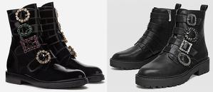 Les botes militars de Dolce&Gabbana vs. les de Stradivarius
