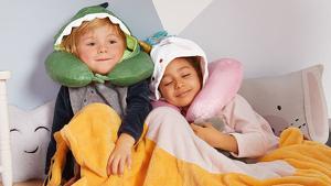 Lidl vende 'online' mantes i coixins originalsperquè els més petits juguin sense passar fred