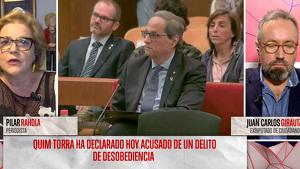 Pilar Rahola i Juan Carlos Girauta s'enfronten a 'Todo es mentira'