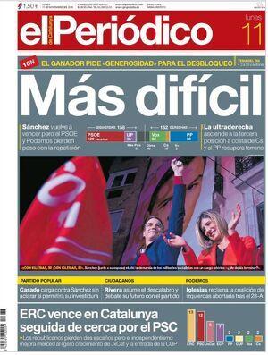 portada El Periódico