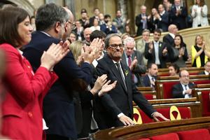 Quim Torra investit president de la Generalitat de Catalunya