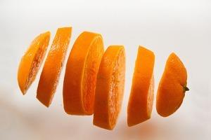 Taronja desintegrada.