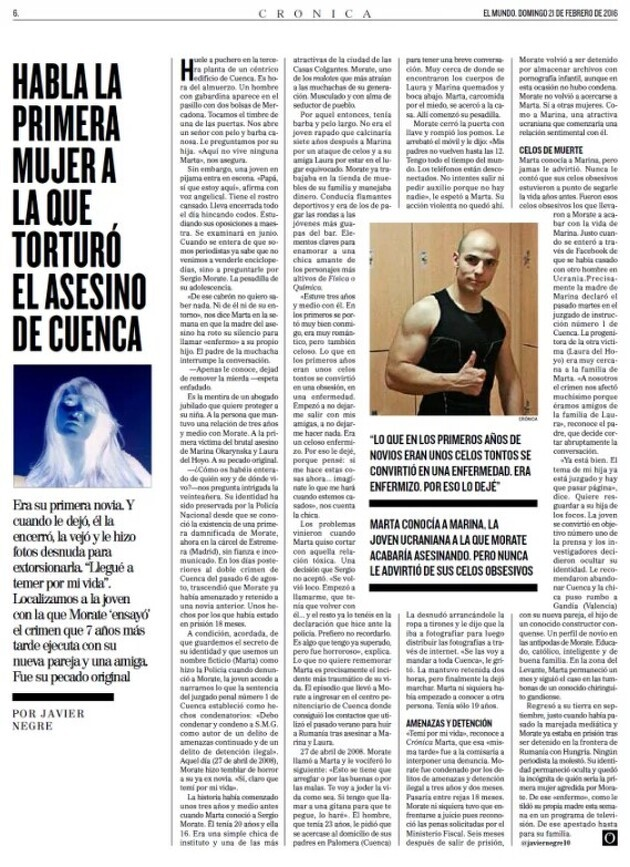 Noticia de 'El Mundo'