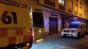 Ambulancia del servicio de Emergencias de Galicia