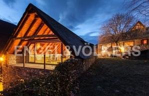 Imatge de la casa de Pau Donés a la Val d'Aran