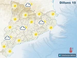 Mapa de símbols previst per Catalunya