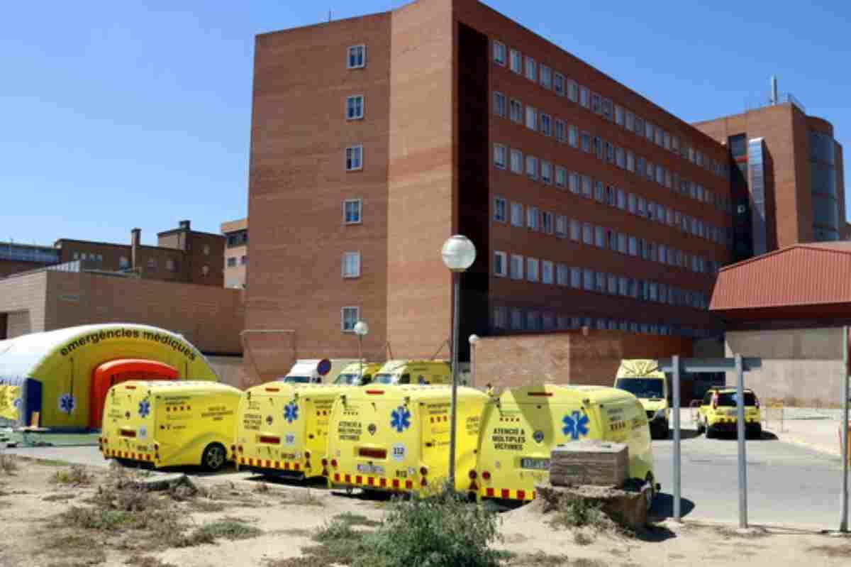 Hospital de Campanya a Lleida aixecat pel SEM