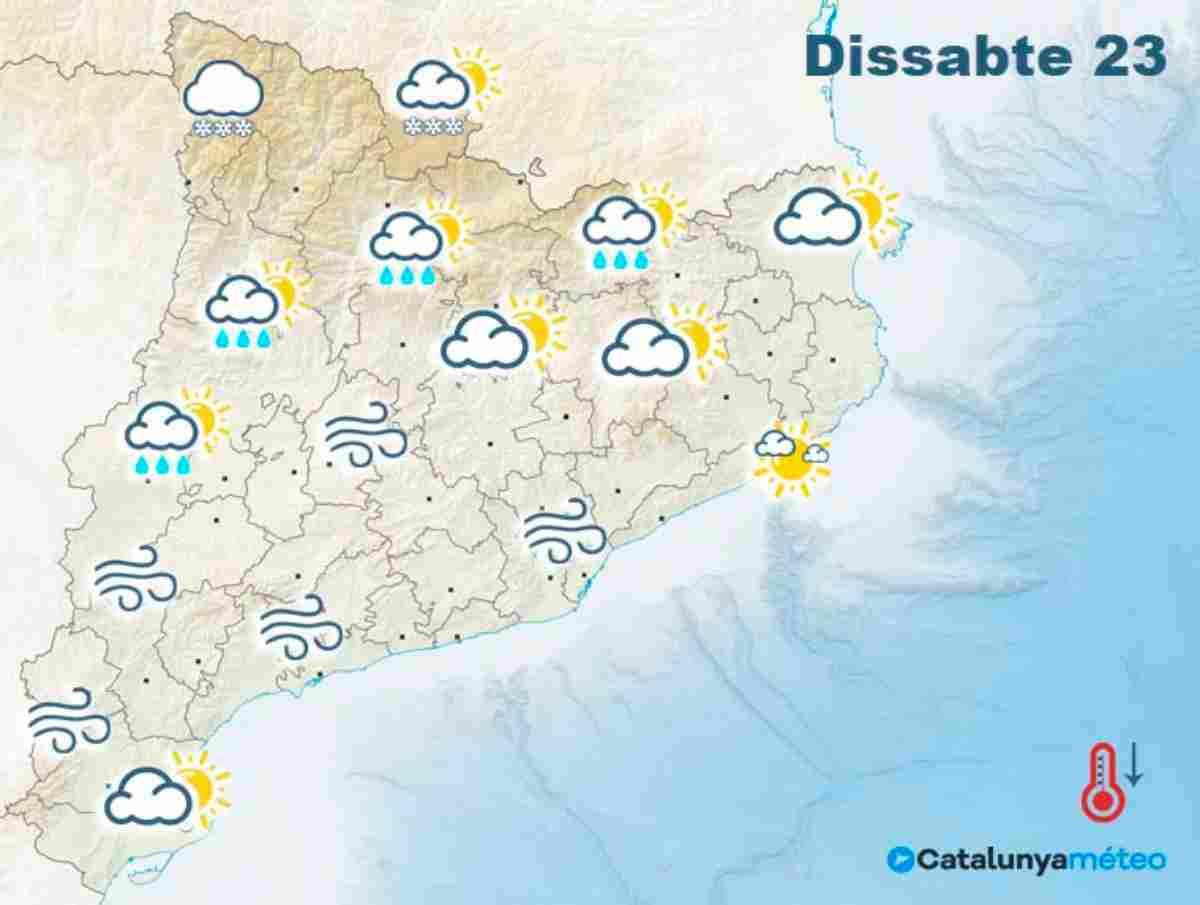 Notícies de la meteo a Catalunya - cover