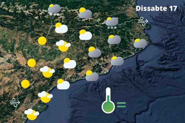 La primavera es disfressa d'hivern aquest cap de setmana: Temps a Catalunya el dissabte 17 d'abril del 2021