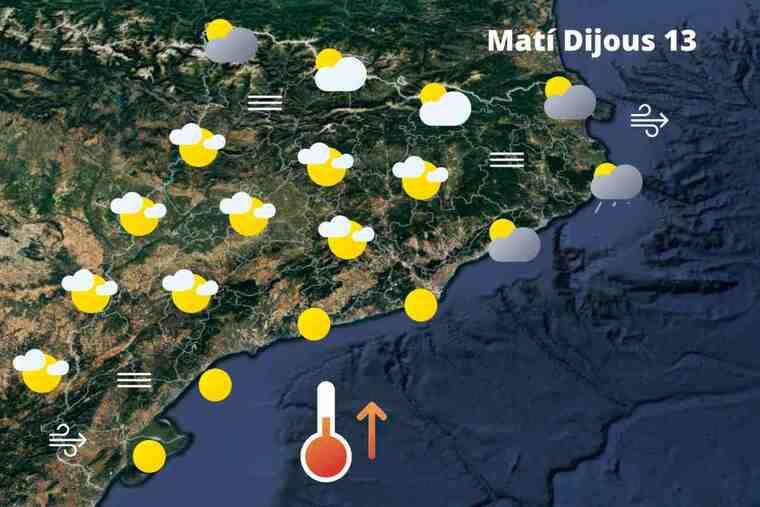 El temps mogut i canviant ja té data de caducitat: Previsió a Catalunya el dijous 13 de maig del 2021