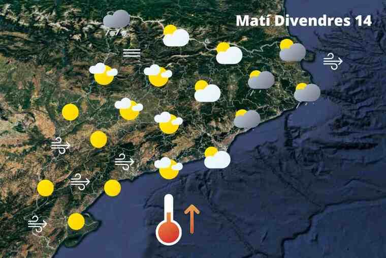 Més canvis a l'espera d'un nou i marcat estiuet el cap de setmana: Temps a Catalunya del 14 al 16 de maig del