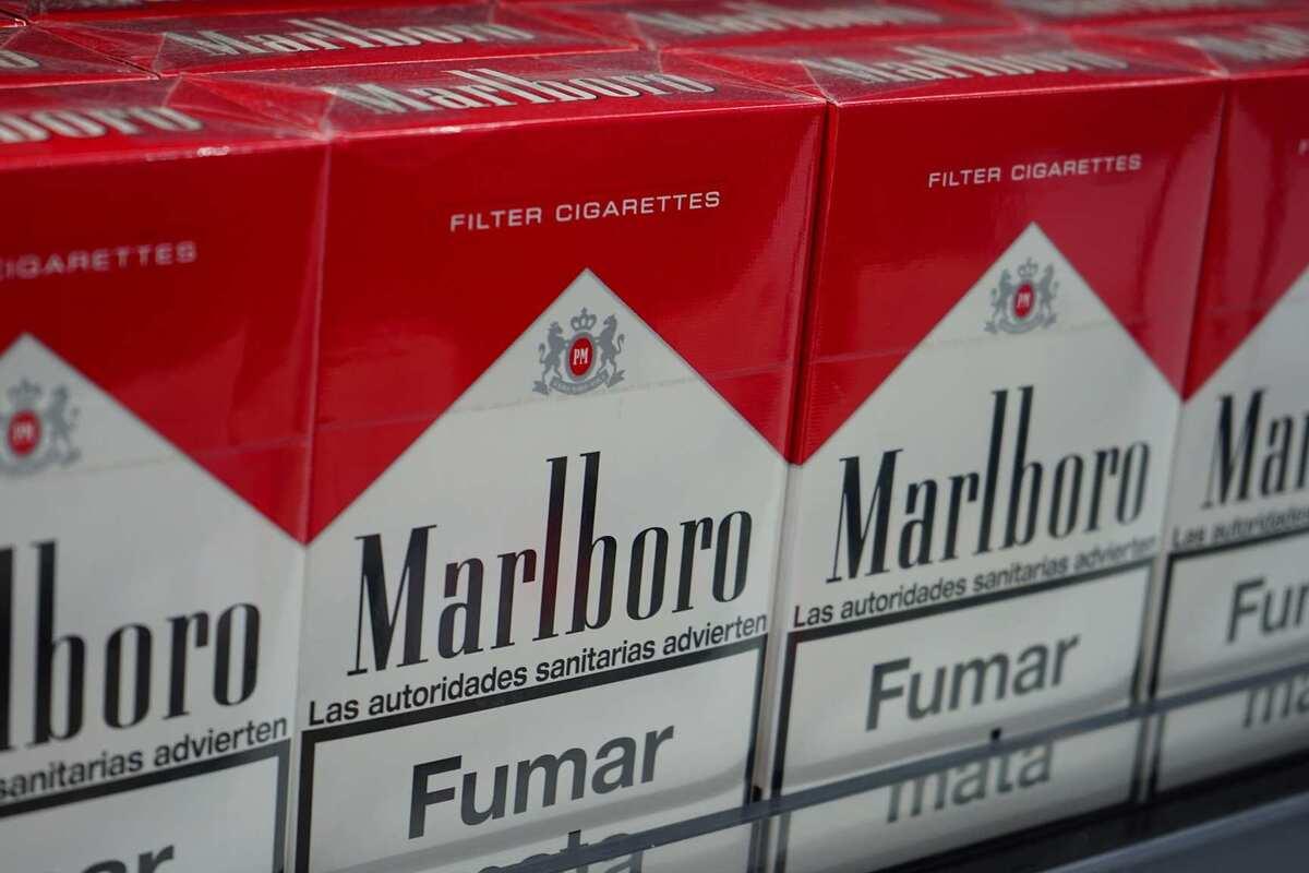 Imatge de diversos paquets de tabac Marlboro