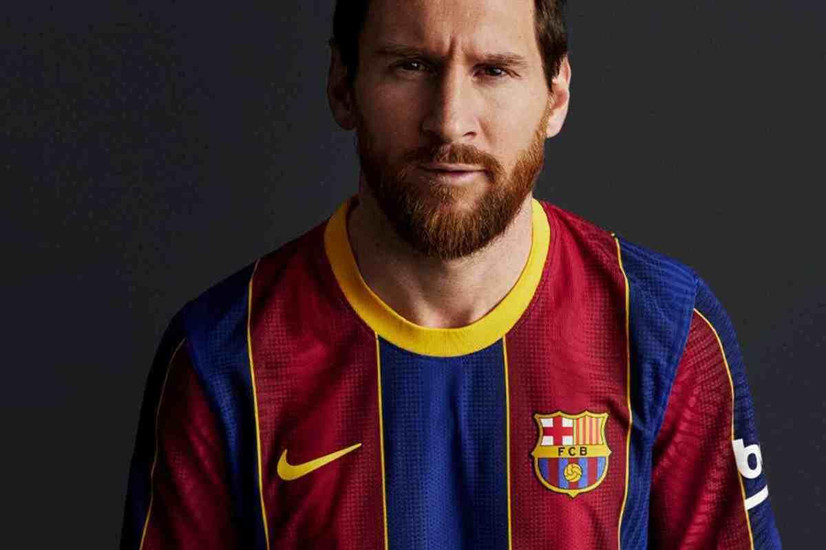 Leo Messi amb la samarreta del FC Barcelona
