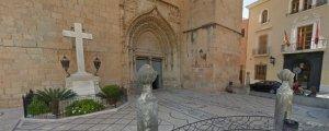 Imatge de la Creu que l'alcalde de Callosa de Segura vol llevar