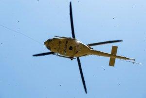 L'helicòpter Alfa 1 del Grup de Rescat del Consorci Provincial de Bombers d'Alacant