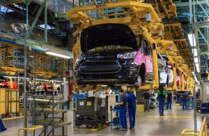 Imatge de la planta de Ford a Almussafes