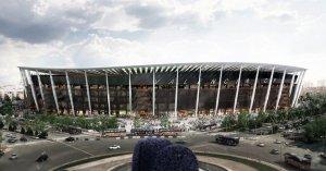 Imatge del redisseny del Nou Mestalla