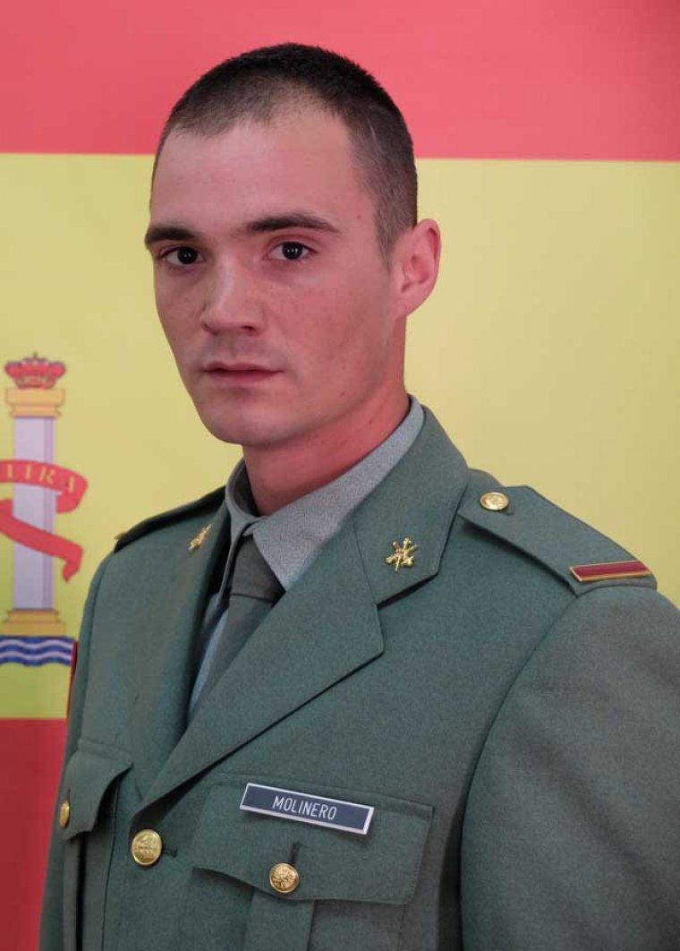 Imatge cedida del militar que ha perdut la vida