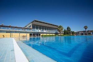 Imatge de la piscina municipal