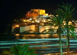 Imatge del castell de Peníscola