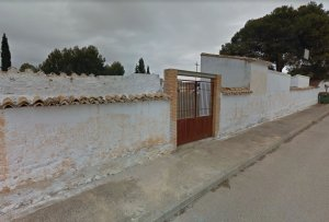 Imatge exterior del cementeri