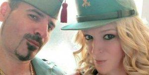 Eva Bou amb el seu assassí i parella sentimental, José Luís Gallego