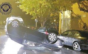 Estat en el qualo va quedar el cotxe a Castelló