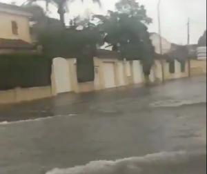 Imatge de les precipitacions a Gandia