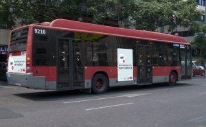 Imatge d'arxiu d'un autobús de l'EMT