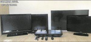 Televisors furtats