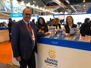 Calp ofereix els seus atractius turístics a Fitur