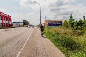 Ciclista a Cullera