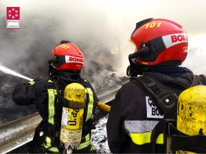 Els Bombers del Consorci de Castelló han controlat l'incendi a les 14.40h