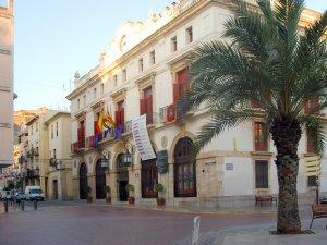Façana de l'Ajuntament de Sagunt