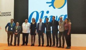 Imatge de l'acte de presentació amb la presència d'Alberto Contador