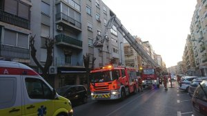 Imatge de l'incendi a Sedaví