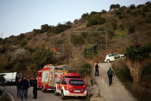 Imatge del dispositiu de rescat a Totalán (Màlaga)