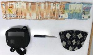 Imatge del material incautat del robatori de Vilavella