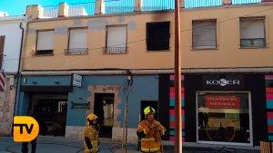 Incendi en un habitatge de Dénia