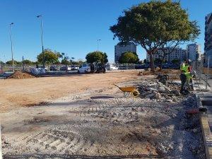 La Regidoria de Gestió Urbanística ha començat les obres de condicionament del nou parc