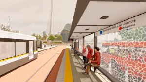 Simulació de la Línia 10 de MetroValencia