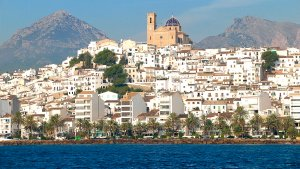 Vista d'Altea