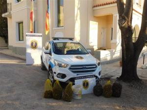 Caragols confiscats per la Policia Autonòmica