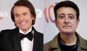 Els cantants Raphael i Manolo García