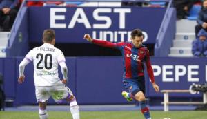 Imatge del jugador Toño Garcia en un partit de Lliga