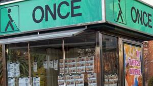 Imatge d'un punt de venda de l'ONCE