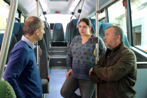 Nou autobús híbrid