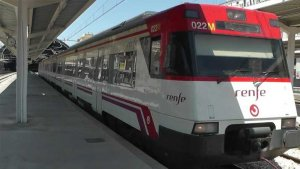 Tren de Rodalia a València